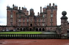 Drumlanrig Castle. Scotland