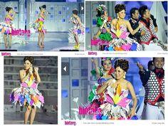 Colourfull tube dress
