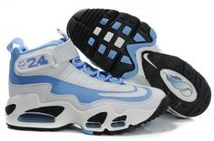 the best attitude b623f ce247 blue and white air griffey max 1 womens