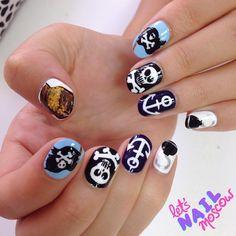 pirate letsnailmoscow   #nail #nails #nailart