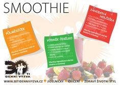 30ti denní výzva - Vychytávky Smoothies, Low Carb, Food, Diet, Smoothie, Essen, Meals, Yemek, Smoothie Packs