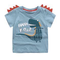 d02cb2bd627 Cute Summer New Girls Boy T-shirt Children s Bottom Kids Lovely 3D Animal  Cartoon Shirt Baby Clothes