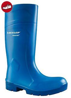 PUROFORT MultiGrip Safety blau, Arbeitsgummistiefel, 43 Dunlop