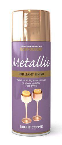 400ml Brilliant Metallic Bright Copper: Amazon.co.uk: DIY & Tools