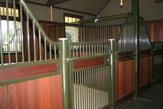 Savannah horse stall - Innovative Equine Systems