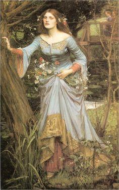 ophelia-1910-J W Waterhouse