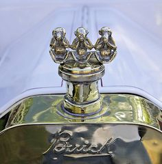 Monkey Photograph - 1909 Buick 10 Runabout by James Stough. Brought to you by agents of at for Car Badges, Car Logos, Classic Hot Rod, Classic Cars, Vintage Cars, Antique Cars, Car Bonnet, Car Hood Ornaments, Car Head