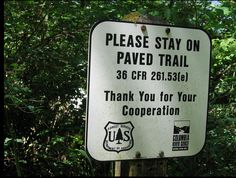Hiking (thanks, Janet!)