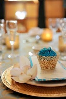 A special photo shoot done for Tampa Bay Weddings Magazine featuring one of my reception/wedding concepts...gold and aqua wedding, reception ideas, aqua linens, antique and vintage wedding style.