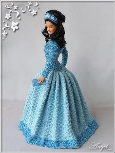 New Dress Pattern Prom Beautiful 35 Ideas Crochet Doll Dress, Crochet Barbie Clothes, Barbie Gowns, Barbie Dress, Barbie Patterns, Dress Patterns, New Dress Pattern, Crochet Fashion, Trendy Dresses