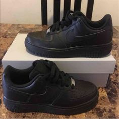 Nike Air Force Ones Brand new with replacement box ,Sneaker ID 314192-009 PRICE FIRM!! Nike Shoes Sneakers
