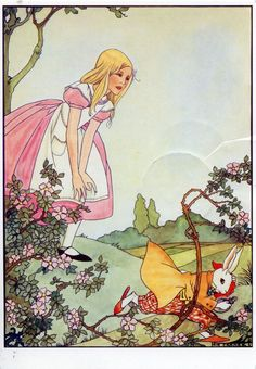 early 1900s fairy tale illustrations | Rie Cramer