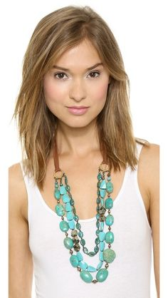 Chan Luu Turquoise Layer Necklace