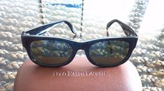 8fa142a76c76 Vintage POLO RALPH LAUREN sunglasses made in usa di RalphaRecycled  Wayfarer