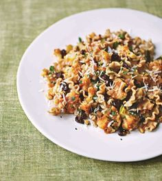 Sicilian cauliflower pasta, from Paul McCartney's Meat Free Monday Cookbook