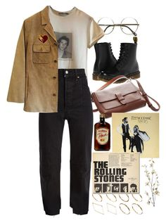 """""""Untitled #11204"""" by nikka-phillips ❤ liked on Polyvore featuring Dr. Martens, L.L.Bean, Dolce&Gabbana, Vetements, ASOS, Ann Taylor, Yves Saint Laurent and Pier 1 Imports"""