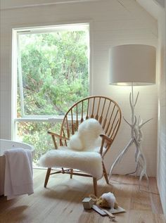 Peacock chair by Hans Wegner by MANUwoodencollection on Etsy