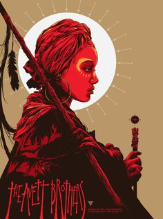 #Gigposter for The Avett Brothers by Ken Taylor.
