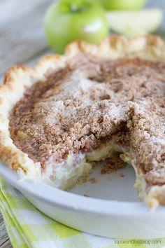 Recipe for Sour Cream Apple Pie