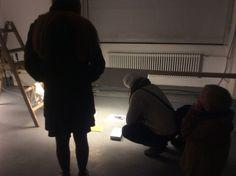 Exhibition view (with Junwon Jung + Merlin Klein + Martin Papcún) @ Kunstarkaden galerie, Munich DE  March 2015
