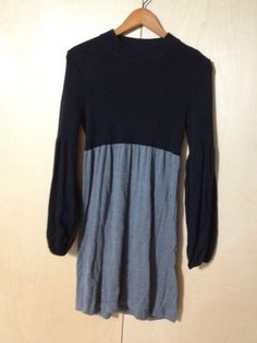NO LONGER AVAILABLE My laundry sweater dress puff sleeves size small by Laundry by Shelli Segal! Size 4 / S for $$30.00. Check it out: http://www.vinted.com/womens-clothing/casual-dresses/21945803-laundry-sweater-dress-puff-sleeves-size-small.