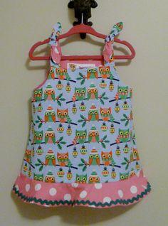 Baby Christmas Dress Infant Dress Christmas by TheCorduroyHippo, $30.00