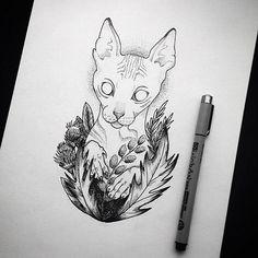 #neformalart #cat #кот #татуэскиз #татуарт #тату #арт #neformal #арт#tattoo #tattoos #tat #ink #inked #tattooed #tattoist #coverup #art #design #instaart#paint #painting #drawing #drawings #markers #paintings #watercolor#like4like #liker #likes#follow