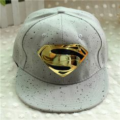 BONÉ SUPERMAN WWW.VISUALROUPAS.COM.BR Chapeu Tumblr 7d4e3c09330