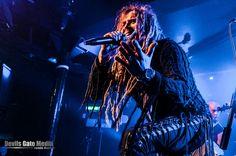 Jonne Järvelä (Korpiklaani and Moonsorrow live at Limelight, Belfast, 23 April 2016)