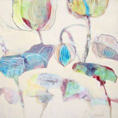 "Saatchi Art Artist Marsha Boston; Painting, ""Latest News"" #art"