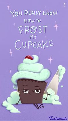 Frosting may be ruined now