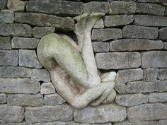 Sculpture by Anna Gillespie.