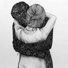 El abrazo de despedida que nunca me dió....