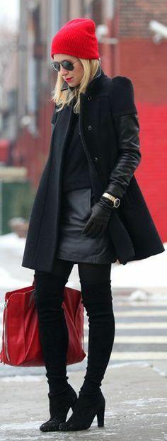 Winter Pop  by Brooklyn Blonde