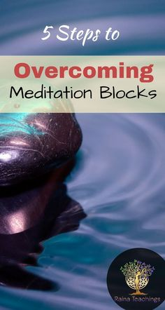 5 Steps to Overcoming Meditation Blocks Hit a mental block in meditation Work through it with 5 simple steps Meditation Benefits, Meditation Quotes, Meditation Space, Healing Meditation, Daily Meditation, Meditation Practices, Meditation Music, Simple Meditation, Mindfulness Exercises