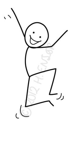 Drawing Tips draw a stickman Easy Drawings For Kids, Drawing For Kids, Art For Kids, Doodle Drawings, Doodle Art, Cute Drawings, Stick Figure Drawing, Drawing Lessons, Drawing Tips