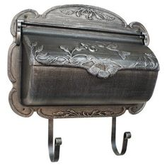 Special Lite Products Hummingbird Wall Mounted Mailbox Color: Swedish Silver