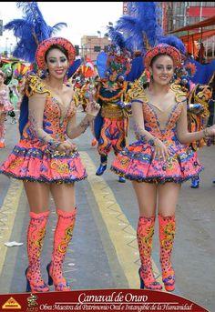 Morenda, Chinas/Figuras,  Carnaval de Oruro Bolivia