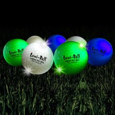 The ultimate dusk to dawn golf ball. These are cool but expensive, but regulare balls spary with glow in the dark paint