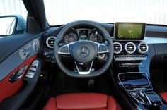 Is this car suits a lady? Mercedes C-Class 2014 interior