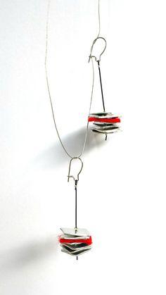 I love her simple, modern jewelry PevalekJewellery, $25.45