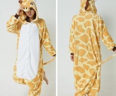 Giraffe Onesie!  I want it so badly! :D