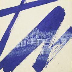"""Saatchi Online Artist: JIEUN PARK; Acrylic 2012 Painting """"39. 4H 30-paris"""""""