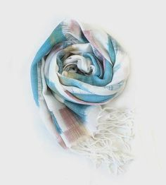 Brush Painted Scarf