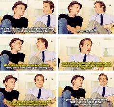 """""""What would it be like if you two battled?"""" - Kevin Zegers and Jamie Campbell Bower"""