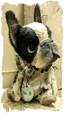 Antique Style ★ Boston Terrier Vintage