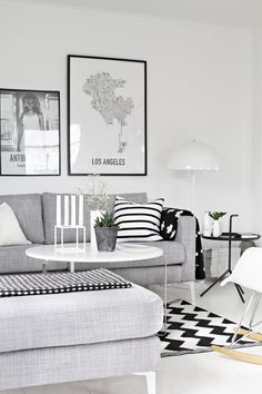 Contemporary style is so cozy and modern. You can use the the newest trends, like patterned pillows and cooper objects. See more contemporary deco inspirations as well as more #home design #ideas at www.homedesignide... #minimalistic #interiordesign