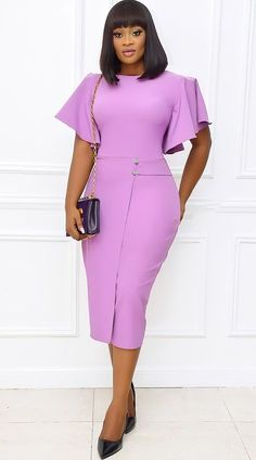 Classy Wear, Classy Work Outfits, Classy Dress, African Dresses For Kids, Latest African Fashion Dresses, Office Dresses For Women, Dresses For Work, Ladies Office Wear, Elegant Office Wear