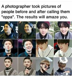 Everyone is happy and then there is jungkook giving the am I really your oppa look