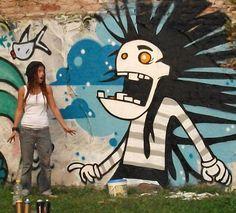 io e il mio graffito